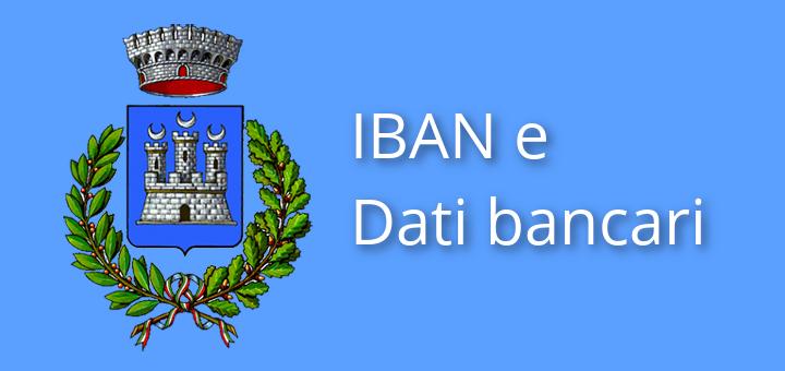 IBAN e dati bancari